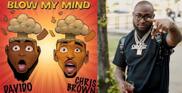 Davido's song 'BLOW MY MIND' becomes the most popular song in the whole world