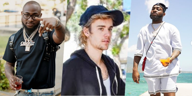 Davido To Feature Justin Bieber In Forthcoming Album (Video)