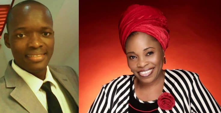 Evangelist Victor Edet warns Tope Alabi to stop using wigs, makeup, earrings