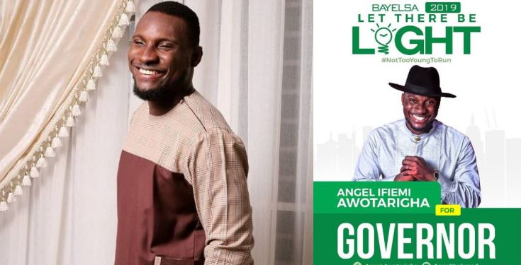 Ex-BBN contestant Angel, joins the Governorship race in Bayelsa
