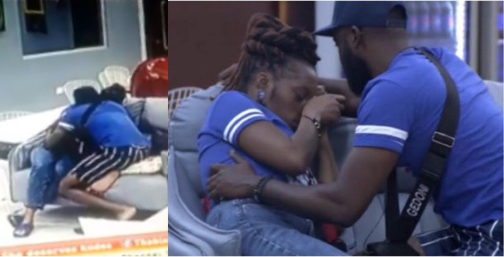 BBNaija 2019: Khafi breaks down into tears over Gedoni (video)