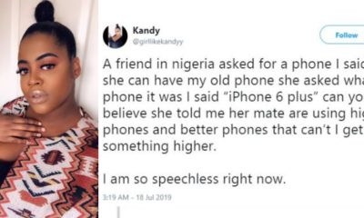 Lady shares her experience with a friend who begged her for a phone