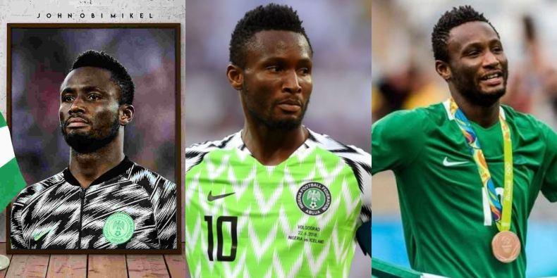 Mikel Obi announces retirement from Super Eagles