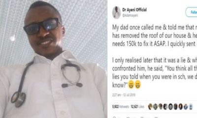 Nigerian man narrates how his dad scammed him of ₦150,000