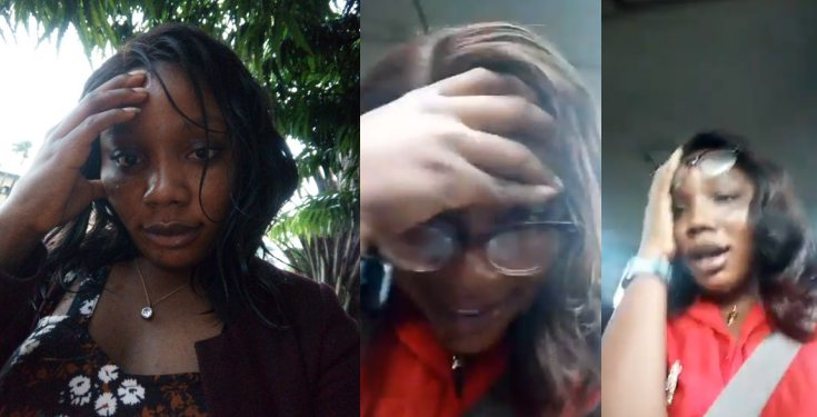 Nigerian mom reacts after being corrected by her daughter (video)