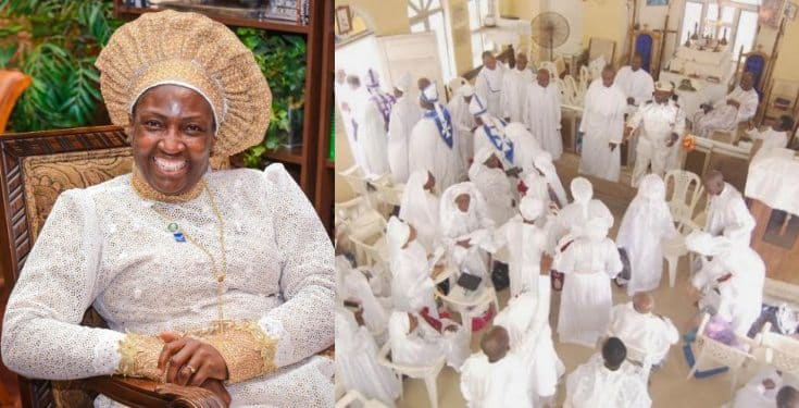 'Nigerians are hypocrites. They come to white garment church at night but hide in the day' - Rev Mother aka Iya Adura