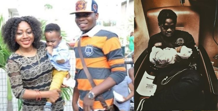 Olamide welcomes 2nd child with his fiancée in U.S
