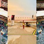 Regina Daniels congratulates husband as he acquires a private jet (Photos)