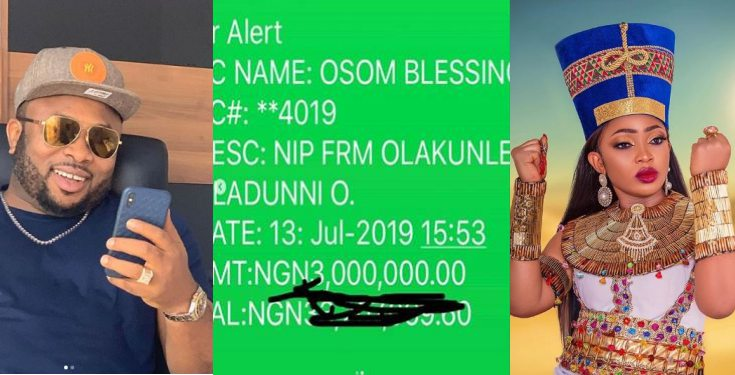 Actress Tonto Dikeh's ex-friend shocked as she receives N3m birthday gift from her ex-husband, Churchill