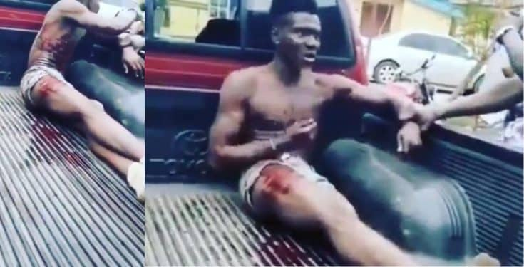 Arrested cultist threatens to kill all the policemen who arrested him (video)