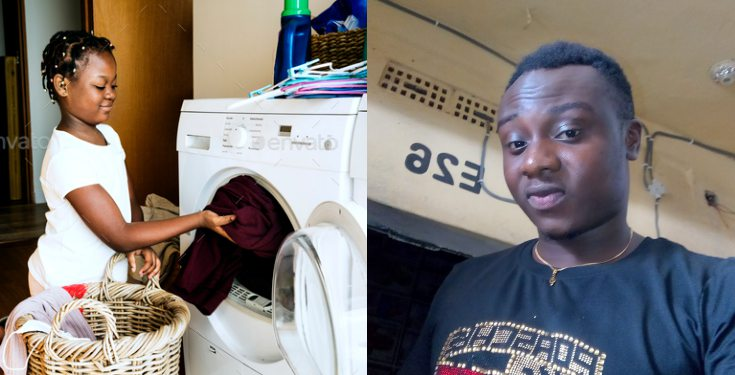 Washing machine should be banned in Nigeria because it's making women lazy - Man says
