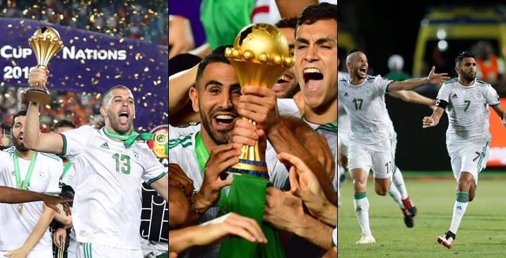 Algeria crowned Africa Cup of Nations champion
