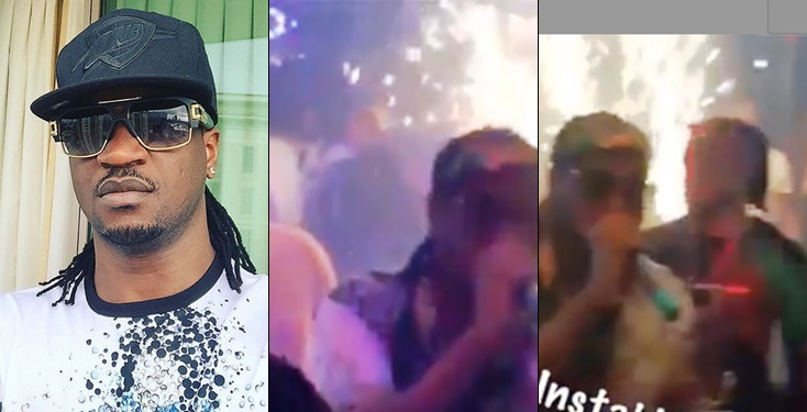 Paul PSquare embarrasses those spraying money on him