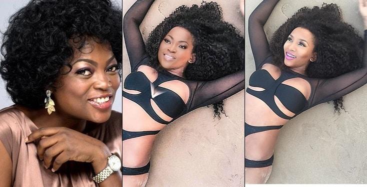 Funke Akindele Photoshops Genevieve Nnaji's Bikini Photo