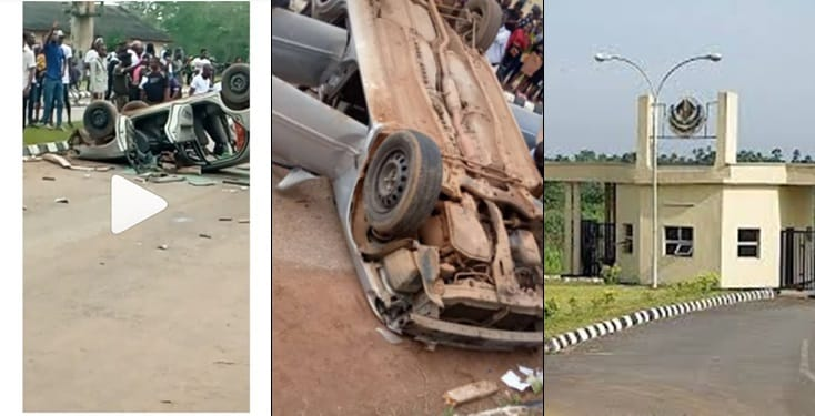 Students destroy vehicle of SARS for storming their campus