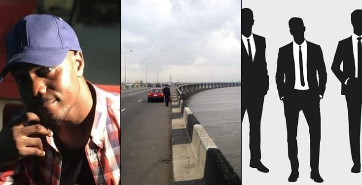 Man robbed by men in suit on Third Mainland Bridge