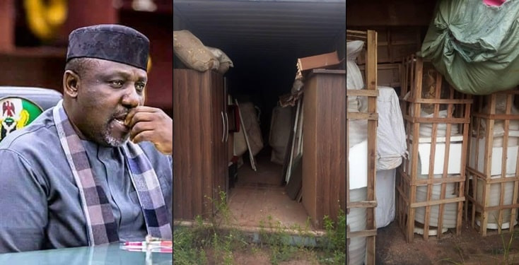 Warehouse where Rochas Okorocha's family kept looted properties uncovered