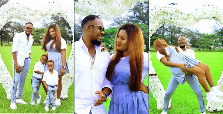 Actor Jnr Pope and Wife Celebrates Wedding Anniversary