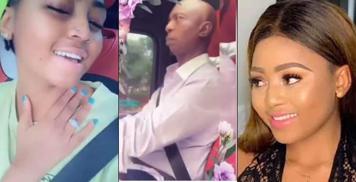 Regina Daniels sings love song to her hubby