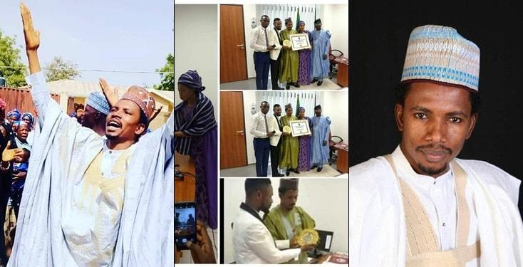 Senator Abbo Receives Award Of Excellence