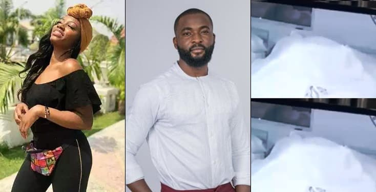 Nigerians react after housemates were caught having sex