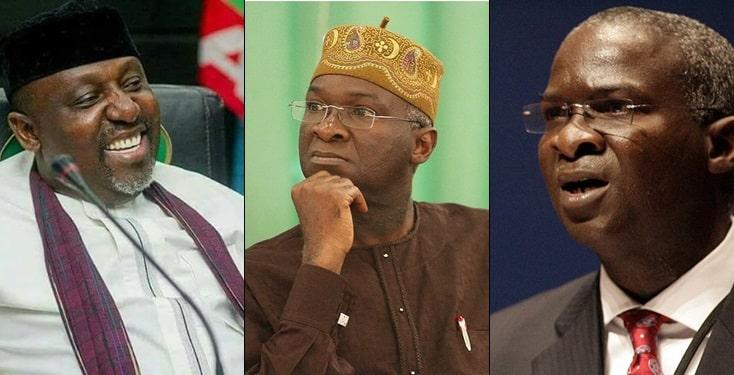 Fashola now having grey hair for heading 3 ministries – Okorocha