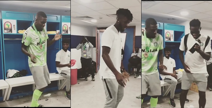 Super Eagles Sing And Dance To Naira Marley's 'Soapy'