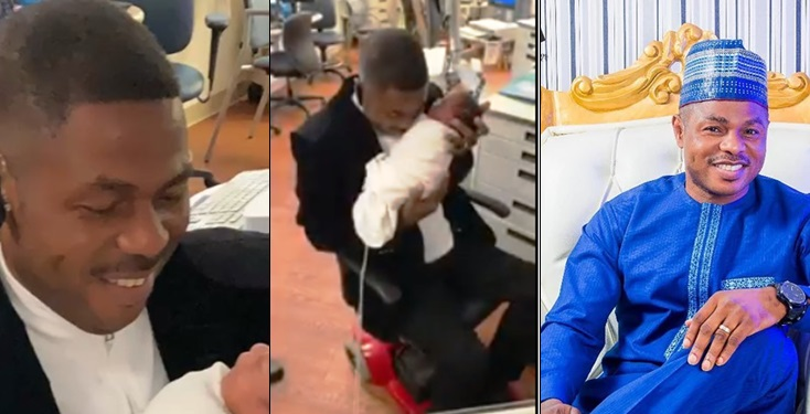 Yinka Ayefele confirms arrival of his set of triplets