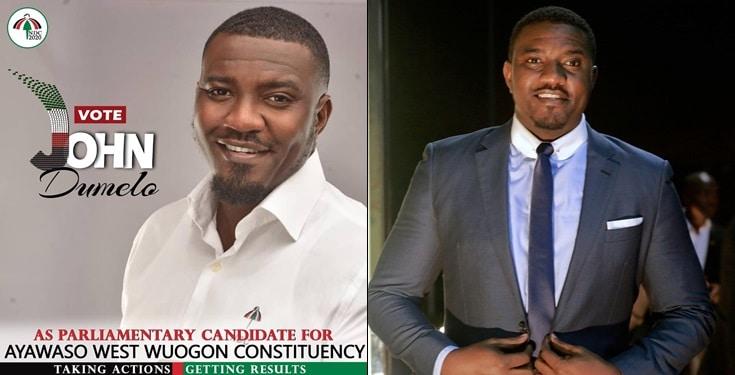 Ghanaian Actor John Dumelo Joins Politics