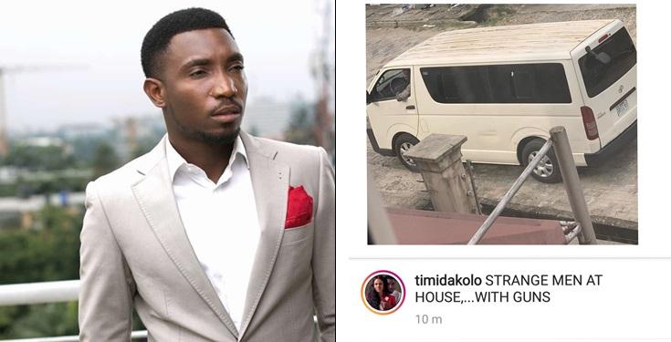 Timi Dakolo raises alarm as strange gun men storm his house