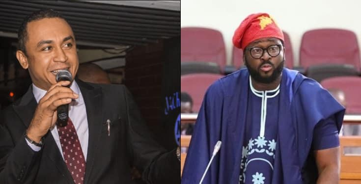 Daddy Freeze shades Desmond Elliot Over Call For Ban