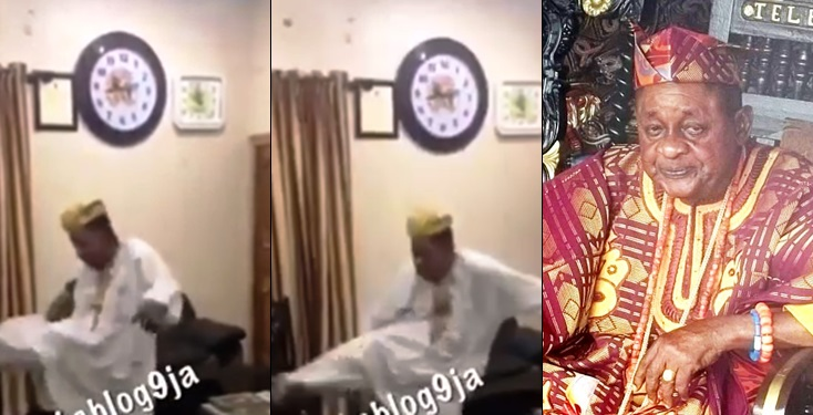80-Year-Old Alaafin Of Oyo Teaches Subjects How To Disarm A Thief