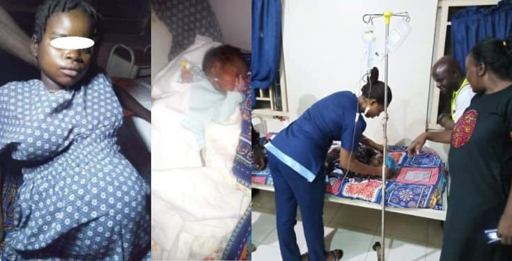 10-year-old orphan gives birth after being raped at IDP camp (photos)
