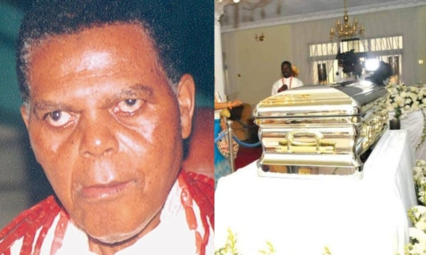 Hoodlums Break into Michael Ibru's Grave to steal his 'Gold Casket'