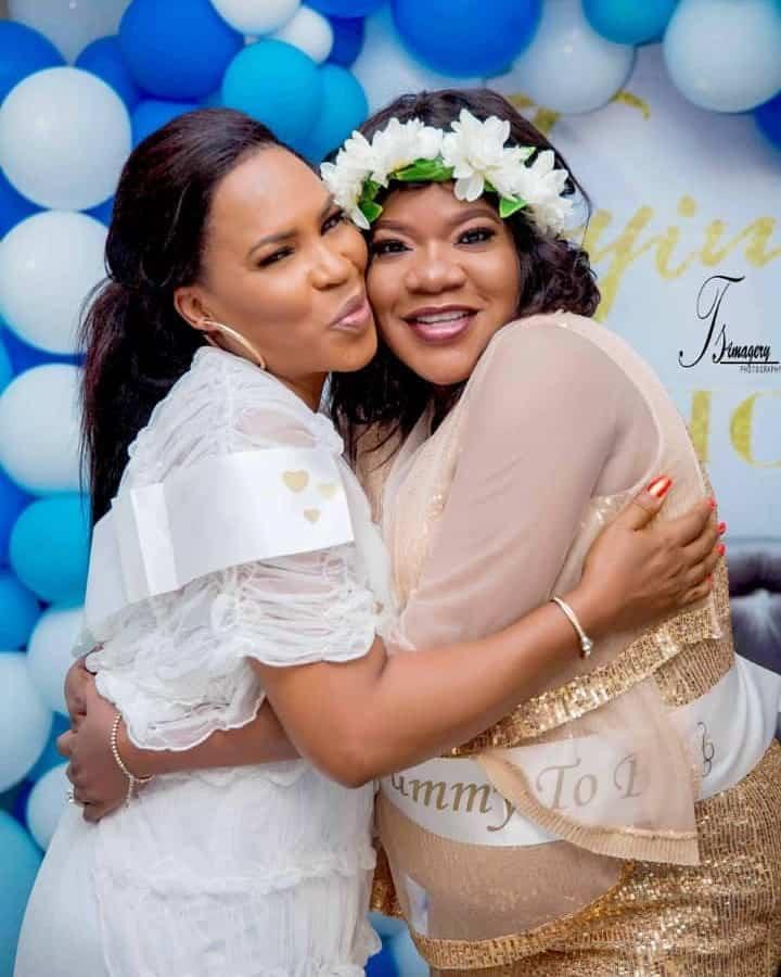 Keeping Toyin Abraham's pregnancy secret for long was hard – Faithia Balogun opens up