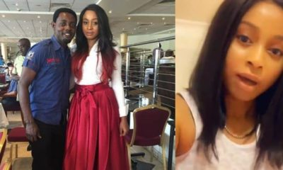AY and wife react after follower said she looked unhappy on husband's birthday