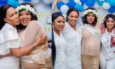 Keeping Toyin Abraham's pregnancy secret for long was hard – Faithia Balogun opens up