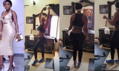 Actress Ini Edo flaunts her curves in stunning new video