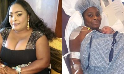 Actress, Ronke Odusanya Welcomes Her First Child (Photo)