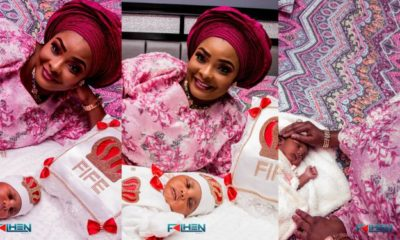 Lovely photos from Ronke Odusanya daughter's naming ceremony