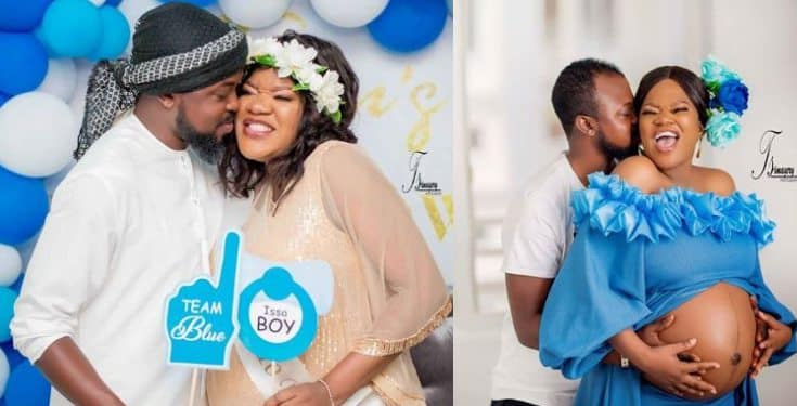 Actress Toyin Abraham unveils her baby's name