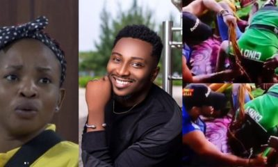 BBNaija 2019: Cindy kisses Sir Dee on his chest (video)