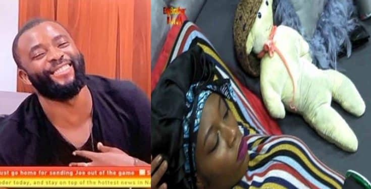 BBNaija 2019: Khafi replaces Gedoni with a 'teddy bear'