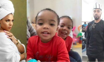 BBNaija 2019: Meet Venita's ex-husband and their two kids (photos)