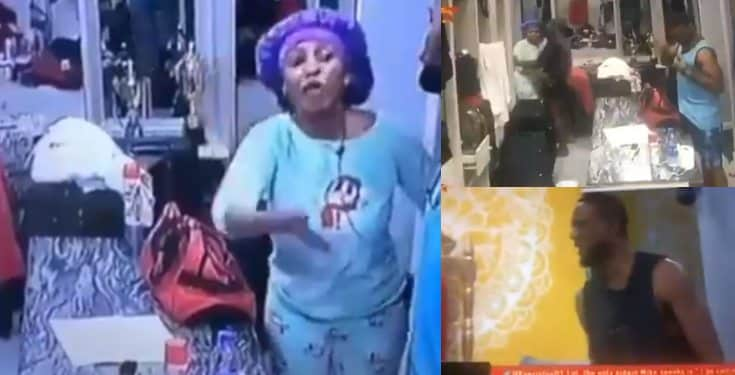 BBNaija 2019 Mercy and Omashola's brawl after midnightt (Video)