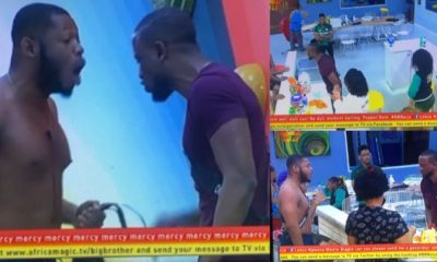 BBNaija 2019: Omashola, Frodd and Esther fight over egg (video)