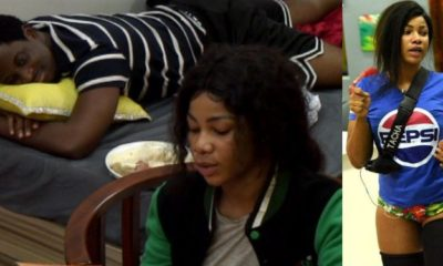 BBNaija: 'Seeing you with other guys gets me jealous' - Seyi tells Tacha