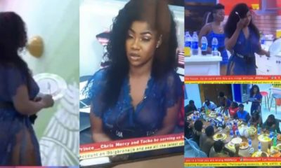 BBNaija 2019: Tacha slays in transparent outfit (video)