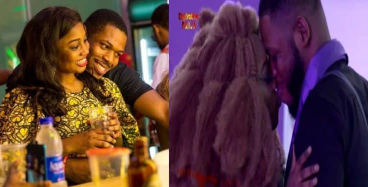 BBNaija 2019: Twitter users react after Esther kissed Frodd