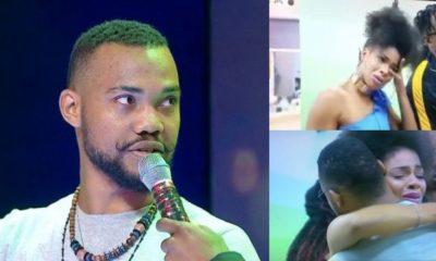 BBNaija: Venita breaks down in tears after Joe was evicted (video)